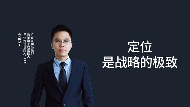 昆仑定位CEO向光宁:定位是战略的极致